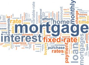 mortgage terms comparison word cloud